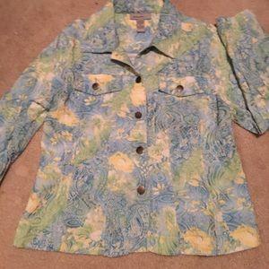 Jackets & Blazers - Analogy Petite Large Jacket women's